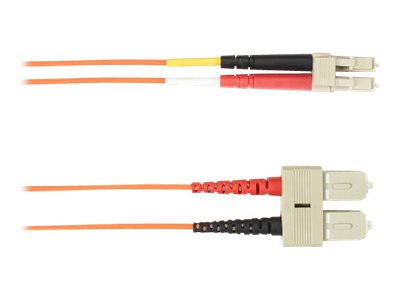 Black Box patch cable - 15 m - orange