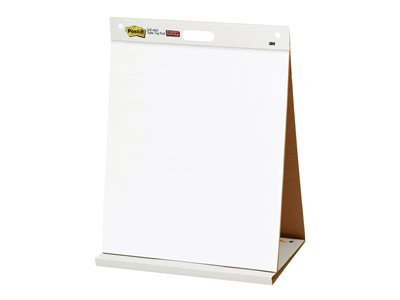 Post-it Tabletop Easel Pad 563R Flip chart pad 20 in x 23 in 20 sheets white