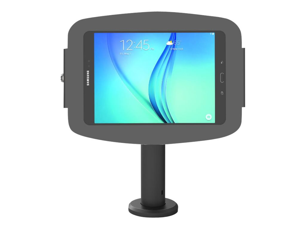 "Compulocks Space Rise Galaxy Tab A 10.1"" Counter Top Kiosk 4"" Black - stand"