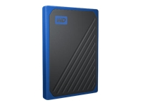 Picture of WD My Passport Go WDBMCG5000ABT - solid state drive - 500 GB - USB 3.0 (WDBMCG5000ABT-WESN)