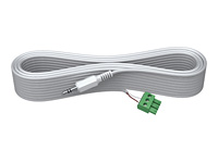 VISION Techconnect 2 - Audio cable - 3 pin Phoenix (M) to mini-phone stereo 3.5 mm (M) - 3 m