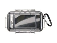 Pelican Micro Case 1015 Protective case for cell phone / camera black/clear