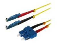 Helos LWL E2000 - Patch-Kabel