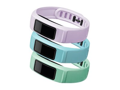 Garmin Wrist strap small size Serenity mint, lilac, cloud (pack of 3)