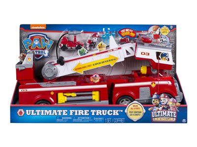 Paw Patrol Ultimate Rescue Fire Truck multicolor