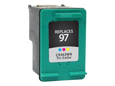 V7 Color (cyan, magenta, yellow) ink cartridge (alternative for: HP 97, HP C9363WN)