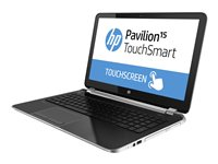HP Pavilion TouchSmart 15-n020us A6 5200 / 2 GHz Win 8 64-bit 4 GB RAM 750 GB HDD