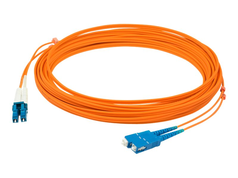 AddOn 20m LC to SC OM1 Orange Patch Cable - patch cable - 20 m - orange
