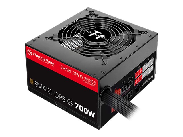 Thermaltake SMART DPS G 700W - Stromversorgung (intern) - ATX12V 2.31/ EPS12V 2.92 - 80 PLUS Bronze - Wechselstrom 100-240 V - 700 Watt
