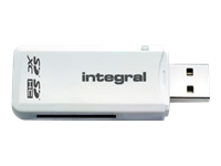 Integral SD Card Reader - Card reader (MMC, SD, MMCmobile, MMCplus, SDHC, SDXC) - USB 2.0