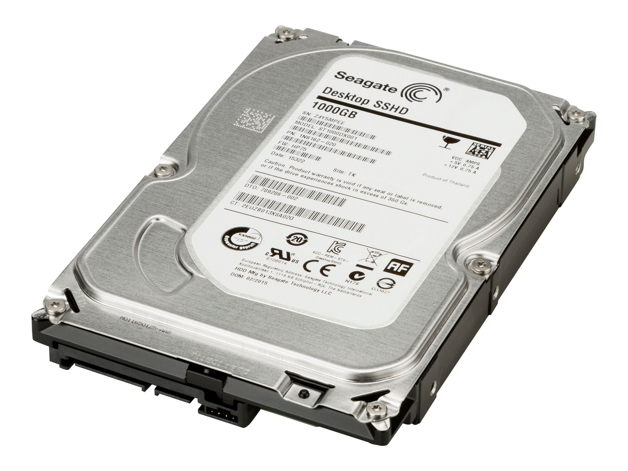 HP - Hybrid-Festplatte - 1 TB (8 GB Flash) - intern - 3.5