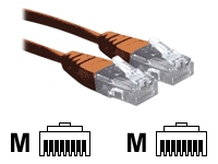 2M Orange RJ45 UTP CAT 6 Stranded Flush Moulded Snagless Network Cable 24AWG LS0H