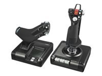 Picture of Logitech X52 Professional H.O.T.A.S. - joystick and throttle - wired (945-000003)
