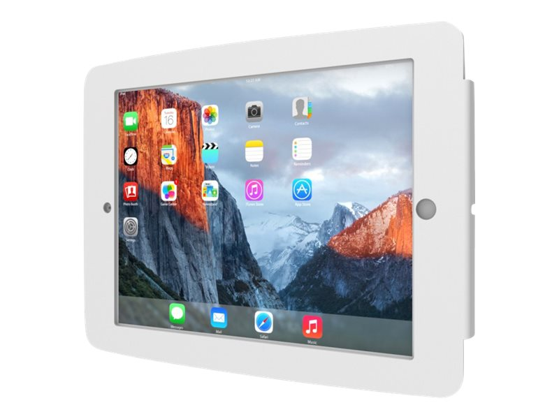Compulocks Space - iPad Mini Wall Mount Enclosure - White - Wandhalterung für Tablett - Aluminium - weiß