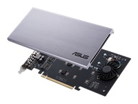 Picture of ASUS HYPER M.2 X16 CARD V2 - interface adapter - M.2 Card - PCIe 3.0 x16 (HYPER M.2 X16 CARD V2)