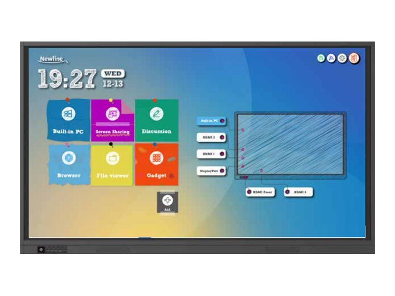 """Newline TruTouch TT-9818RS RS Series - 98"""" LED display - 4K"""