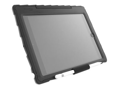 Gumdrop Drop Tech Lock-Down Back cover for tablet rugged rubber black, clear