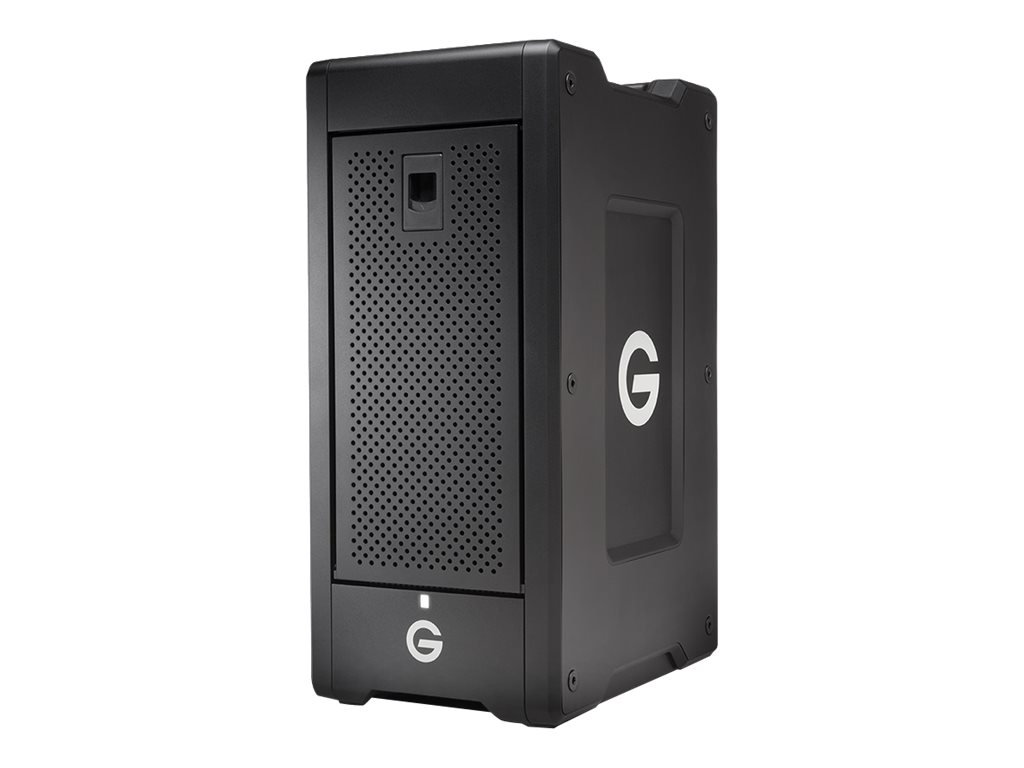G-Tech G-SPEED Shuttle XL - Festplatten-Array - 32 TB - 8 Schächte - HDD 4 TB x 8 - Thunderbolt 3 (extern)