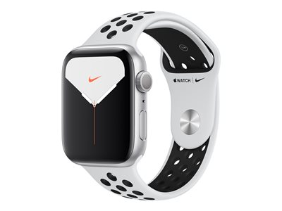 Apple Watch Nike Series 5 (GPS) 44 mm Sølv Smart ur