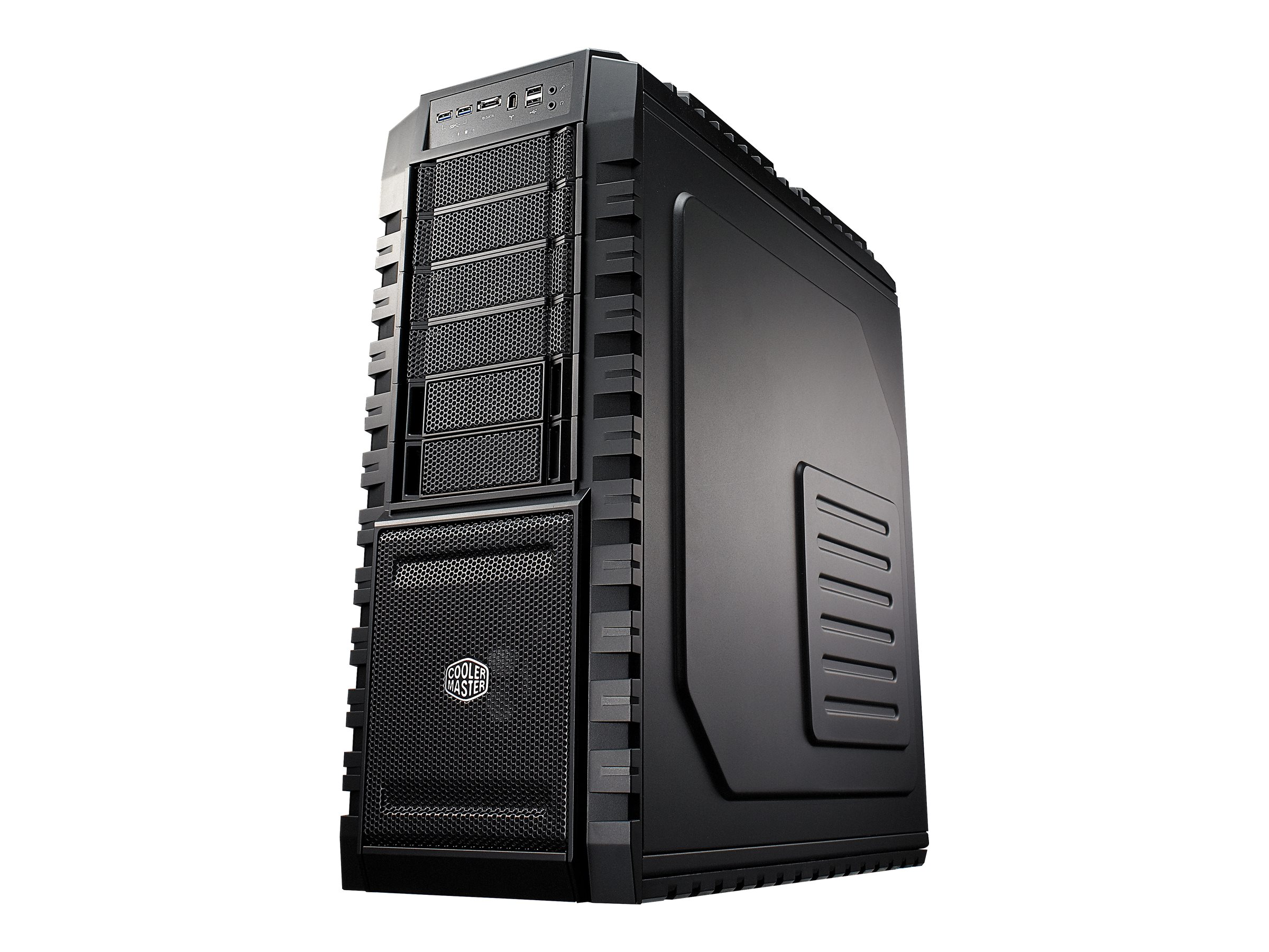 Cooler Master HAF X - Full Tower - Erweitertes ATX (ATX / PS/2) - schwarz - USB/FireWire/Audio/E-SATA