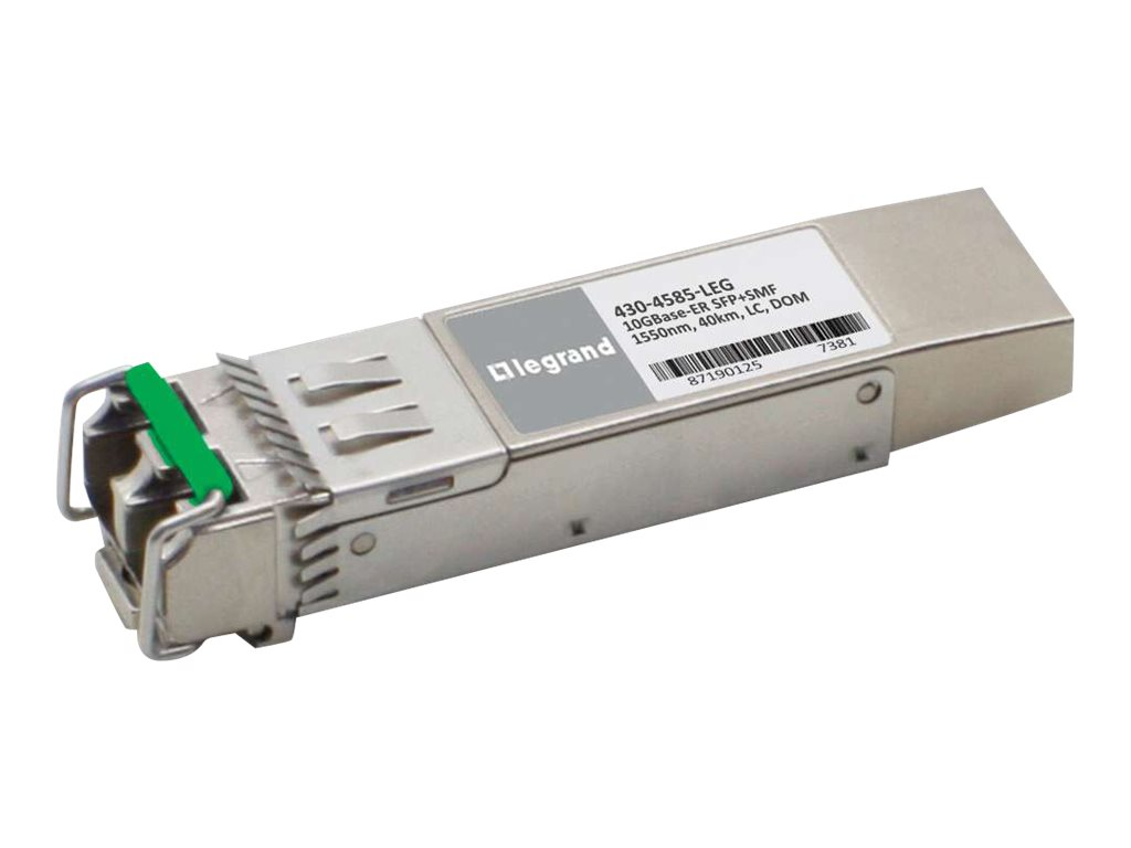 Legrand Dell 430-4585 10GBase-ER SFP+ Transceiver TAA - SFP+ transceiver module - 10 GigE - TAA Compliant