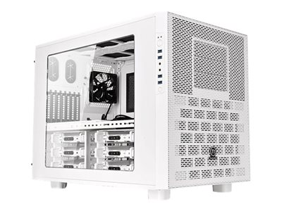 Snow Edition - cube - extended ATX - no power supply (PS/2) - white - USB/Audio