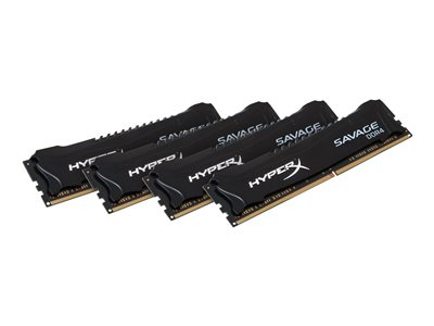 HyperX FURY - DDR4 - 16 GB: 4 x 4 GB - DIMM 288-PIN