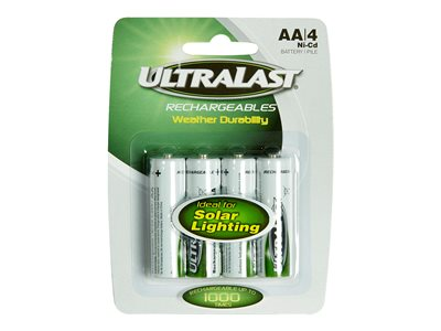 UltraLast ULN4AASL Battery 4 x NiCd ( rechargeable ) 60