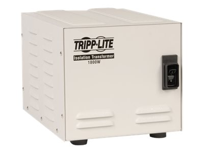 Tripp Lite 1800W Isolation Transformer Hopsital Medical with Surge 120V 6 Outlet 10ft Cord HG TAA GSA - surge protector…
