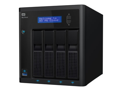 WD My Cloud PR4100 WDBNFA0240KBK - server NAS - 24 TB