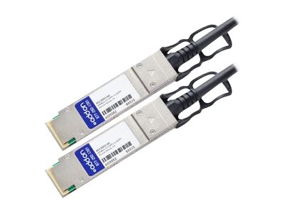 AddOn - 40GBase-CU direct attach cable - TAA Compliant - QSFP+ to QSFP+