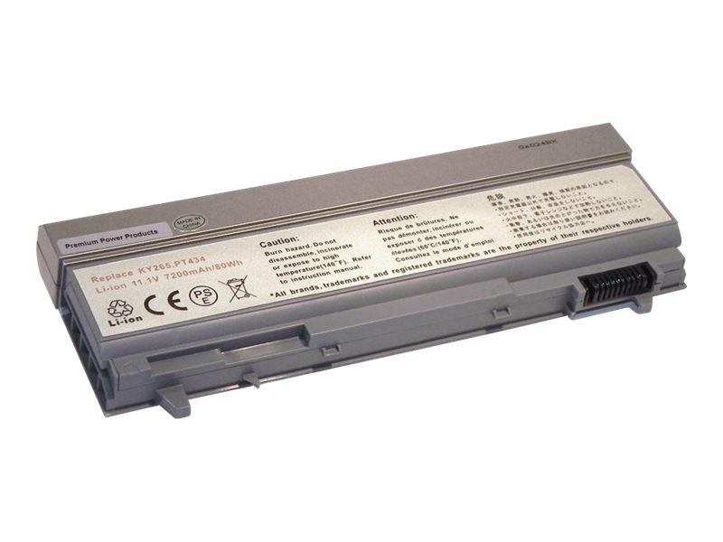 eReplacements Premium Power Products 312-0749-ER - notebook battery - Li-Ion - 7200 mAh