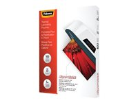 Fellowes SuperQuick Glossy 5 mil 100-pack clear 11.5