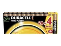Duracell Plus Power MN2400 - Batterie 24 x AAA-Typ Alkalisch
