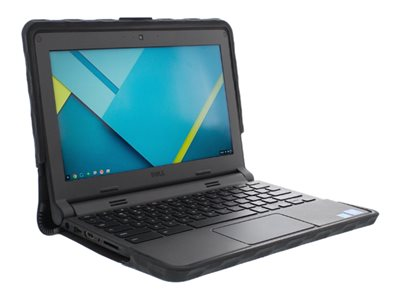 Gumdrop SoftShell Notebook top and rear cover 11.6INCH black