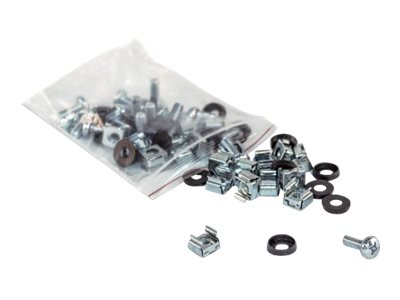 Intellinet Cage Nut Set, 100 pieces rack screws, nuts and washers