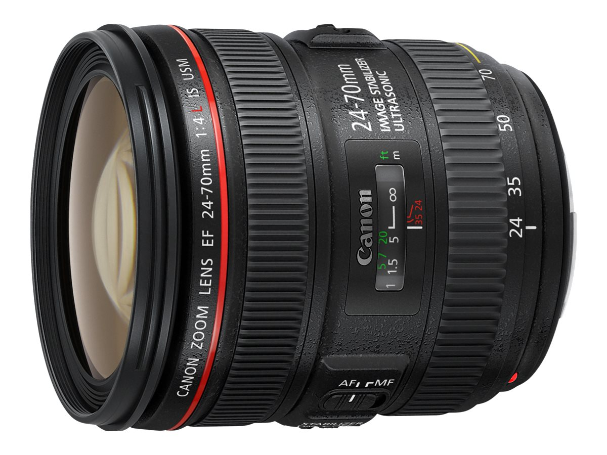 Canon EF - Zoomobjektiv - 24 mm - 70 mm - f/4.0 L IS USM - Canon EF