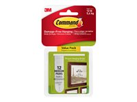 Command Medium Picture Hanging Strips Mounting adhesive 2.76 in x 0.63 in white