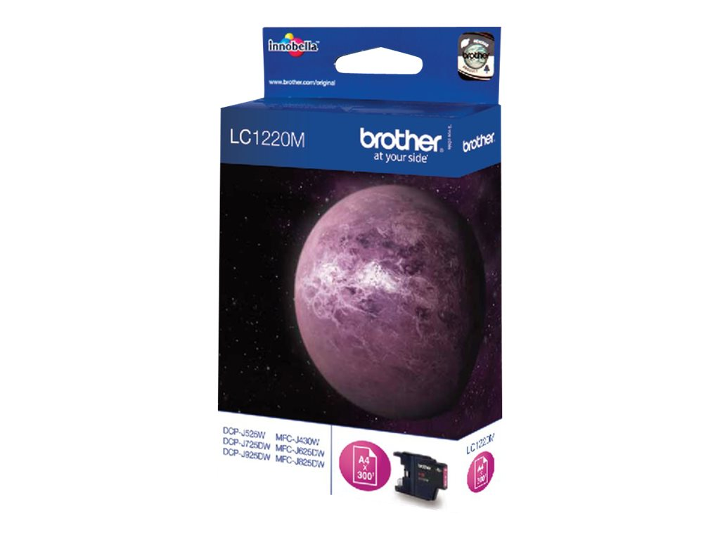 Brother LC1220 - magenta - originale - cartouche d'encre