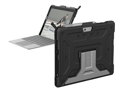 UAG Rugged Case for Microsoft Surface Go Metropolis Black Back cover for tablet rugged