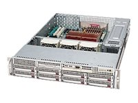 Supermicro SC825 S2-R700LPB - rack-mountable - 2U - extended ATX
