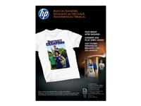 HP Letter A Size (8.5 in x 11 in) 12 pcs. iron-on transfers