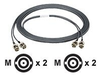 Black Box High-Speed DS-3 - network cable - 60 cm - gray