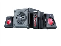 Genius Parlantes SW-G2.1 1250 Gaming 38Wrms 3,5mm 2RCA