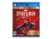 MarvelFEETs Spider-Man Game Of The Year Edition PlayStation 4