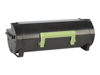 Lexmark 501H - High Yield - black - original - toner cartridge LCCP, LRP - for Lexmark MS310, MS312, MS315, MS410, MS415, MS510, MS610