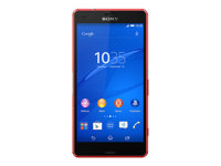 "Sony XPERIA Z3 Compact - D5803 - smartphone - 4G LTE - 16 GB - microSDXC slot - GSM - 4.6"" - 1280 x 720 pixels - IPS - RAM 2 GB - 20.7 MP (2.2 MP front camera) - Android - orange"