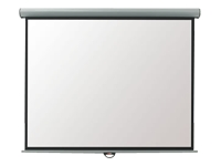 Metroplan Eyeline Manual Wall Screen - Projection screen - ceiling mountable, wall mountable - 4:3 - Matte White - cool white ***Delivery of this product is approx. 5 working days***