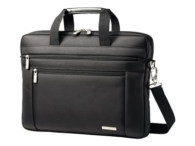 Samsonite Classic Business Three Gusset Large Toploader Notebook carrying case 15.6INCH bl