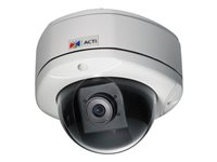 ACTi KCM-7111 Network surveillance camera dome vandal / weatherproof color (Day&Night)